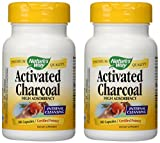 Cheap Nature's Way Activated Charcoal High Absorbency Supplement, 100 Count (Pack of 2)