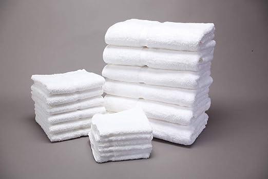 Elegant Textiles - Toallas de baño (algodón orgánico Suave, 600 g ...
