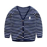 Product review for UWESPRING Baby Boys Striped Cardigan Top V-neck Knit Sweater Coats