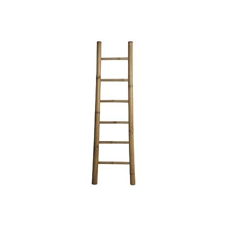 Escalera para toallas, madera de bambu natural 180 cm