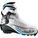 Salomon SNS RS Vitane Carbon Skate Boot - Women's White/Black, US 6.5/UK 5.0