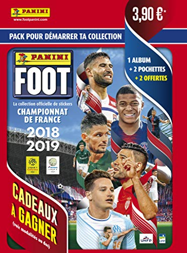 Panini 2428-014 Football Album + 4 Pockets 2018-2019