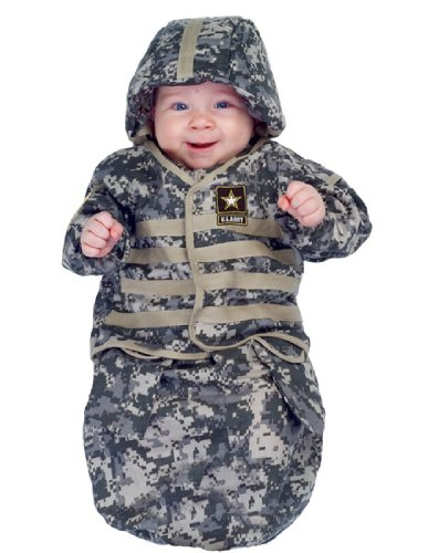 [Underwraps Baby's U.S. Army TM Bunting, Camo, Infant] (Us Army Costumes)