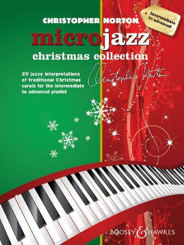 Microjazz Christmas Collection - 20 jazzy interpretations of traditional Christmas carols for the intermediate to advanced pianist - Piano - ( BH 12428 )