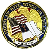 NEW ''Mount Up With Wings As Eagles'' Challenge Coin