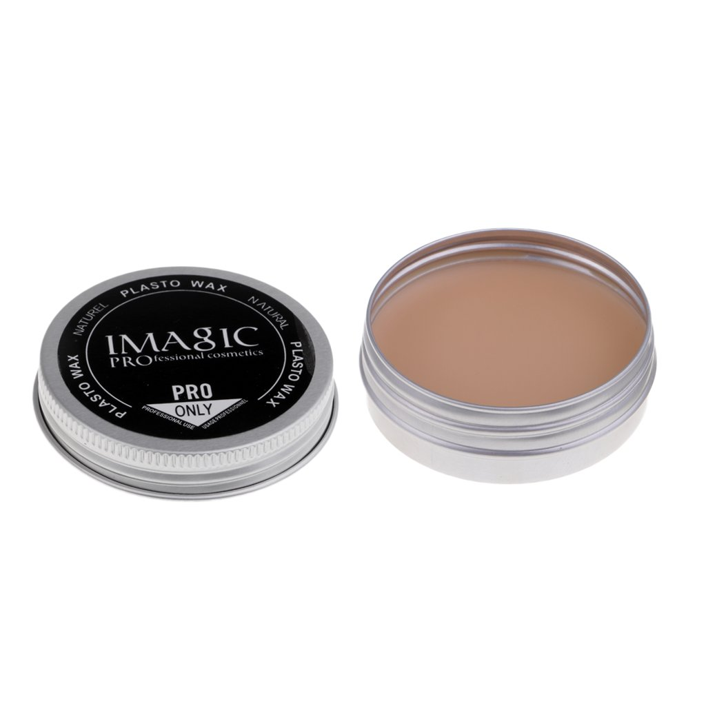 Baoblaze Natural Makeup Kit Halloween Modeling Putty/Wax Makeup Scar Nude Color Wound Scar Makeup Wax Stage Body Painting - #4, as described