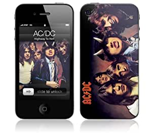 Zing Revolution MS-ACDC10133 AC/DC - Highway To Hell Cell Phone Cover Skin for iPhone 4/4S