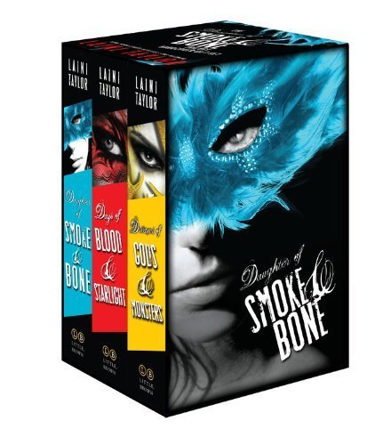 By Laini Taylor - The Daughter of Smoke & Bone Trilogy Hardcover Gift Set (2014-11-05) [Hardcover] pdf epub download ebook