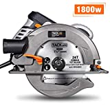 Circular Saw, TACKLIFE Upgraded 1800W 4700RPM Compact Circular Saw...