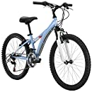 "Diamondback Bicycles Tess 24 Girl's Mountain Bike, 24"" Wheels, Blue"