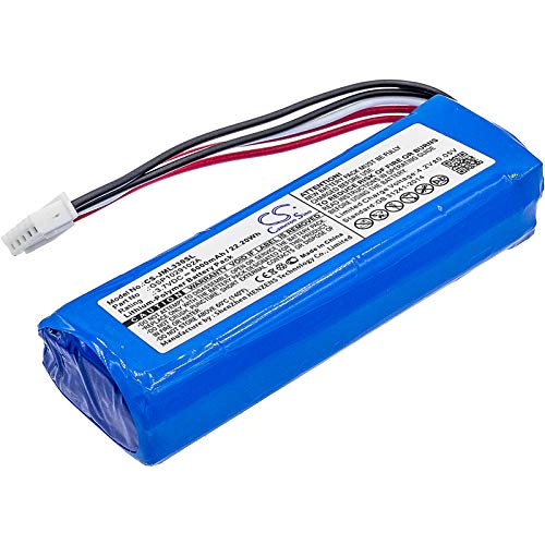- Replacement Battery for JBL Charge 3 Part NO GSP1029102A