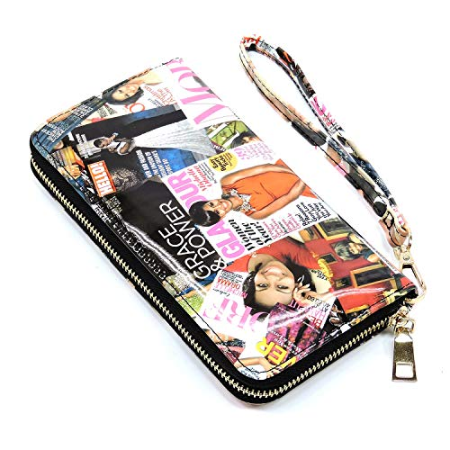 » Glossy magazine cover collage full size wallets Michelle