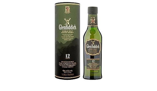 Glenfiddich 12 años Whisky escocés de malta simple (2 x 0,7 l): Amazon.es: Alimentación y bebidas