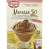 Oetker Light Milk Chocolate Mousse, 12-Count
