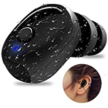 IP68 Waterproof Swimming Earbud - Sport Wireless Bluetooth Headphones - Sweatproof Stable Fit in Ear Workout Headsets Special for Swimming Driving Sauna