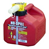 No Spill Gas Can 1 Gal Epa And Carb Approved