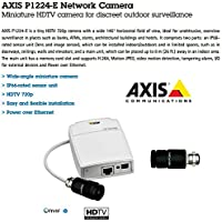AXIS 0654-001 P1224-E Mini Wide-Angle HDTV Camera For Outdoor Surveillance