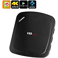 Generic 4K TV Box Scishion V88 - Quad-Core CPU, Android 6. 0, 2GB RAM, 4K Support, Kodi TV, Google Play