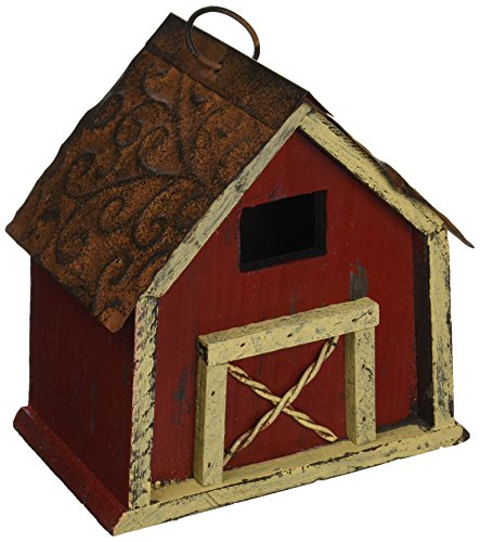 Carson Home Accents Rustic Barn Birdhouse