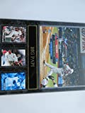 """DAVID ORTIZ BOSTON RED SOX 500TH HOME RUN PHOTO AND 3 CARDS MOUNTED ON A """"12 X15"""" BLACK MARBLE PLAQUE"""