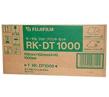 FUJIFILM Papel térmico DYESUB RK-DT1000 10x15 Cartón de 2 x ...