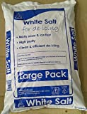 25 KG BAG ROCK SALT FOR KEEPING DRIVEWAYS AND PATHS CLEAR OF ICE/SNOW