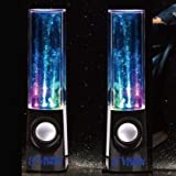 ECVISION Plug And Play Muti-Colored Illuminated Fountain Water Speakers