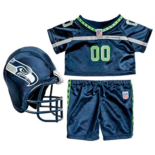 Build a Bear Seattle Seahawks 3 pc. NFL Football Team for sale  Delivered anywhere in USA