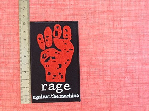 Ecusson-Patches Aufnaher Toppa –  Rage Against The Machine –  Band zum Aufbü geln BLUE HAWAI