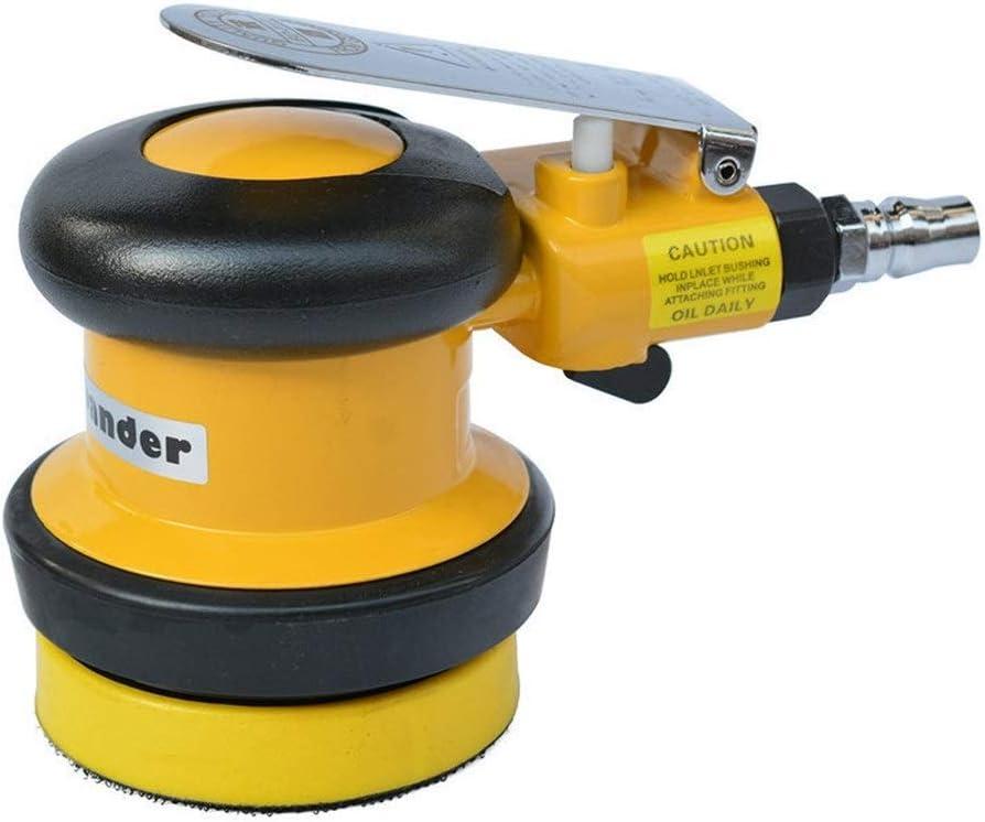 Ahorro de trabajo 75mm neumático Sander, de 3 pulgadas de disco neumático pulidora, máquina de papel de lija de mano Taladro electrico