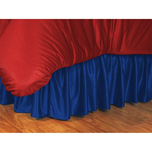 Wildcats Bedskirt Twin (Sports Coverage College Bed skirt)