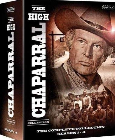The High Chaparral (Complete Collection) - 30-DVD Box Set ( The High Chaparral (Seasons 1-4) ) [ NON-USA FORMAT, PAL, Reg.0 Import - Sweden ]