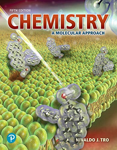 Chemistry: A Molecular Approach Plus Mastering Chemistry with Pearson eText -- Access Card Package (5th Edition) (New Chemistry Titles from Niva Tro) (Access Card Chemistry)