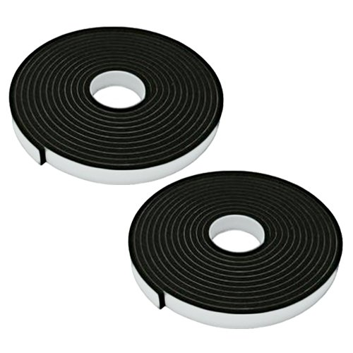 Wideskall 16 Feet Light Duty Mounting Double Sided Foam Adhesive Tape - 2/3' inch x 16' Feet (1 Roll) Wideskall®