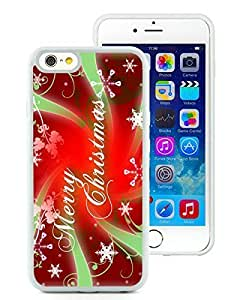 Popular Sell iPhone 6 Case,Merry Christmas White iPhone 6 4.7 Inch TPU Case 46