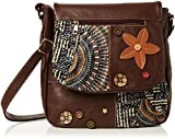 Joe Browns Womens The Remarkable Patchwork Top-Handle Bag A-Brown