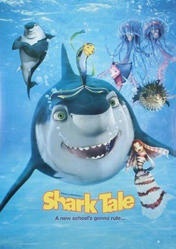 - Shark Tale Reprint Cast 27X41 New Movie Poster
