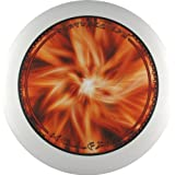 Eurodisc 175g 4.0 100% Organic Ultimate Frisbee Competition Disc not Discraft, exclusive scratch resistant full color foto print HELLFIRE WHITE