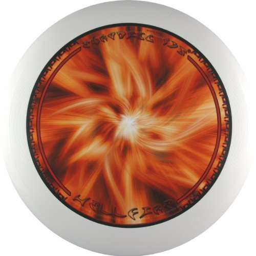 Eurodisc Ultimate Frisbee Competition Disc 175g - Fotoprint HELLFIRE by New Games - Frisbeesport