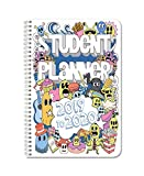 BookFactory 2019-2020 Doodle Student Planner/Agenda/Organizer/Calendar (134 Pages) - 6' X 9' Wire-O (CAL-134-69CW-A(DoodlePlanner19-20))
