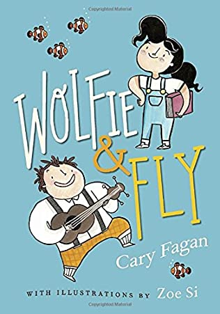 book cover of Wolfie and Fly