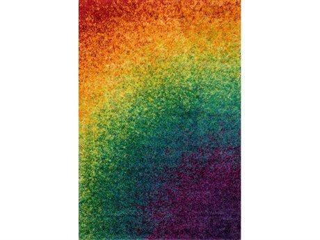 Loloi Barcelona Shag Rainbow 5'2
