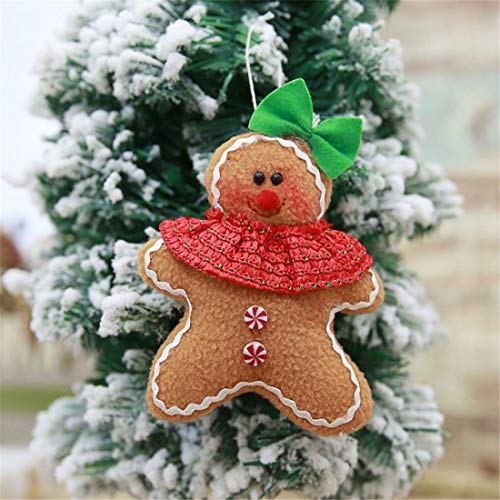 Outdoor Lighted Gingerbread Man Decorations in US - 7