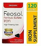 iron 325 mg - Feosol Original Vitamins, 120 Count