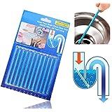Detergente per tubo tubi di scarico, Essort doccia pavimento di deodorante stick, 5 di colore 5 sapore, 12PCS 1 Set Giallo