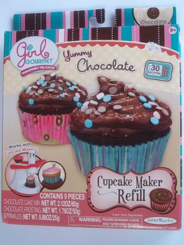 - Girl Gourmet - Cupcake Maker Refill - Chocolate