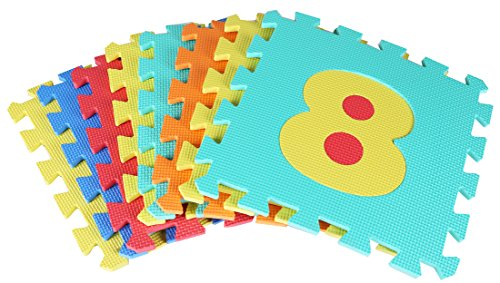 BalanceFrom Kid's Puzzle Exercise Play Mat with EVA Foam Interlocking Tiles by BalanceFrom (Image #1)