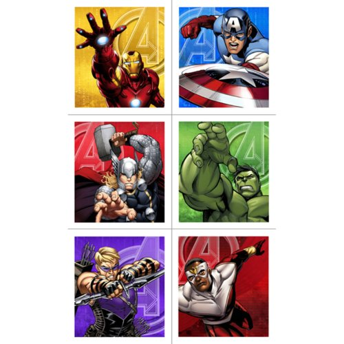 Avengers Assemble Sticker Sheets (4) by Hallmark