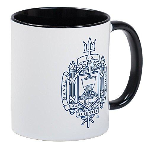 Mug Academy - CafePress U.S. Naval Academy Crest Unique Coffee Mug, Coffee Cup
