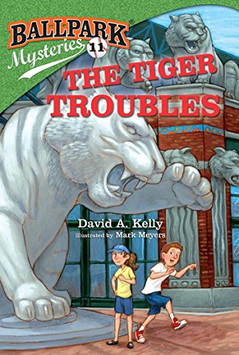 (Ballpark Mysteries #11: The Tiger Troubles)